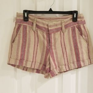 Loft Ann Taylor Linen Shorts Size 2